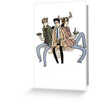 Team Free Will Greeting Card