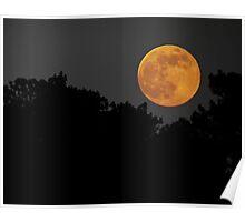 2013 Super Moon Rising Poster