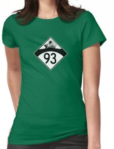 ninety-three: the retro t-shirt Womens Fitted T-Shirt