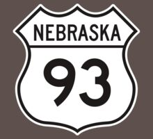 ninety-three: the highway t-shirt by Joseph Vavak