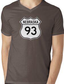 ninety-three: the highway t-shirt Mens V-Neck T-Shirt