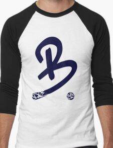 Be Dope (Blue) Men's Baseball ¾ T-Shirt