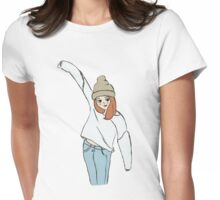 It's Sweater Weather Womens Fitted T-Shirt