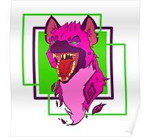 Laughing Hyena Poster