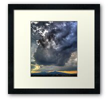 ©HCS Two Faces Cloud Framed Print