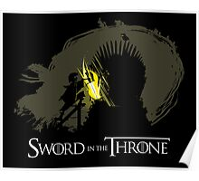 The Sword in the Throne Poster