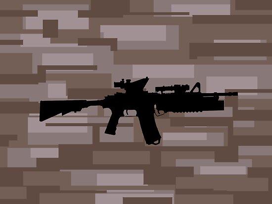 M4A1 Marpat by Bobgle