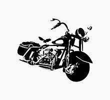 Black And White Motorcycle Unisex T-Shirt
