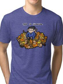 Beam Me Up, Catty Tri-blend T-Shirt