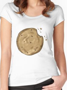 Snacktastic Cookie for your enjoyment. Women's Fitted Scoop T-Shirt