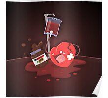 Broken heart needs chocolate Poster