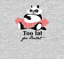Too fat for Ballet Womens Fitted T-Shirt