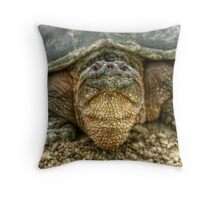 Snapping Turtle IX Throw Pillow