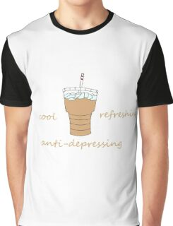 Cool, Refreshing, Anti-Depressing Graphic T-Shirt
