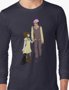 Markiplier and Fran Bow Long Sleeve T-Shirt