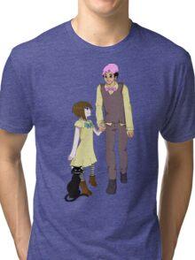 Markiplier and Fran Bow Tri-blend T-Shirt