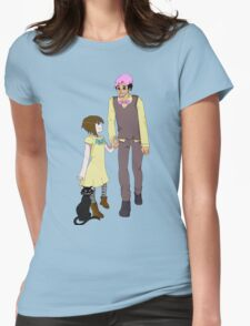 Markiplier and Fran Bow Womens Fitted T-Shirt