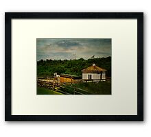 Young Rider and Horse Framed Print