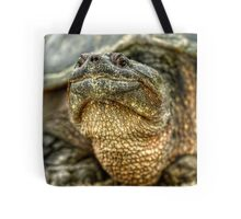 Snapping Turtle X Tote Bag