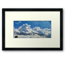 ©HCS Cloudscape Tree Framed Print
