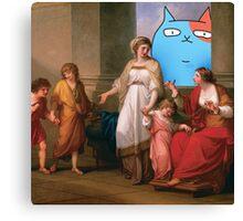 The Hide&Seek Cat Canvas Print