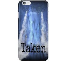 taken iPhone Case/Skin