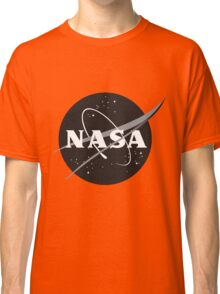 NASA Black Classic T-Shirt