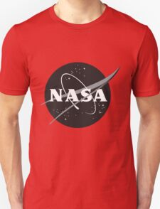 NASA Black Unisex T-Shirt
