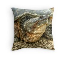 Snapping Turtle VIII Throw Pillow