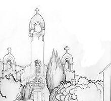 Mission San Rafael by bbqshoes