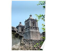 Mission Concepcion Bell Towers Poster