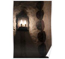 Concepcion Light Fixture and Fresco Poster
