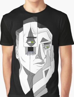 Grayscale Thoughts Graphic T-Shirt