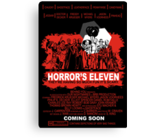 Horror's Eleven Canvas Print