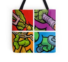Lichtenstein Pop Martial Art Quelonians Full Set Tote Bag