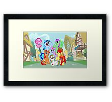 My little pony friendship is magic! Framed Print