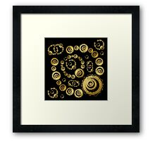 ©DA Circles Fractal I Framed Print