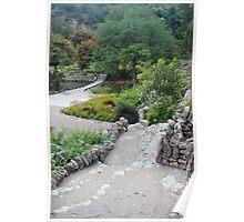 Japanese Tea Garden Pathway Poster