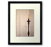 Candle Holder 14 Framed Print