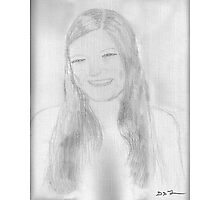 A beautiful young lady Photographic Print