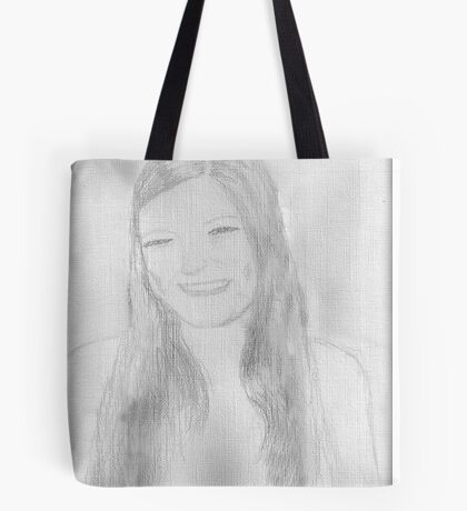 A beautiful young lady Tote Bag