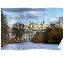 Looking Towards Whitehall from St James' Park Poster