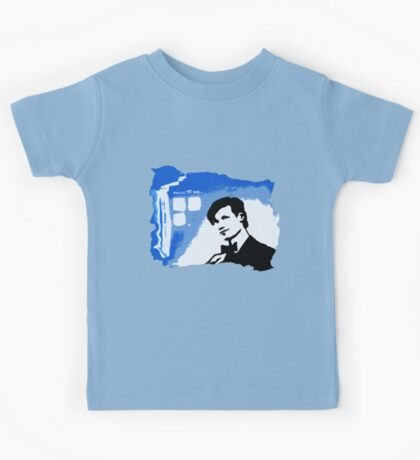 Mad Man In A Blue Box  Kids Tee