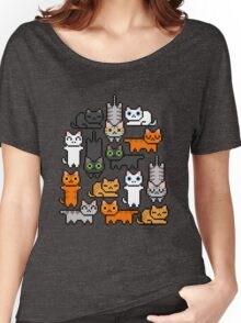 Super Kitten Pile (Just Cats) Women's Relaxed Fit T-Shirt