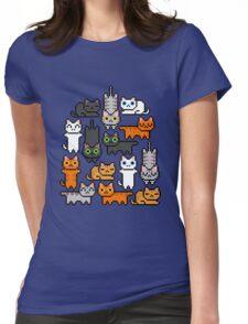 Super Kitten Pile (Just Cats) Womens Fitted T-Shirt