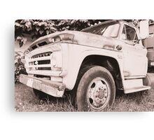 Truck. Canvas Print