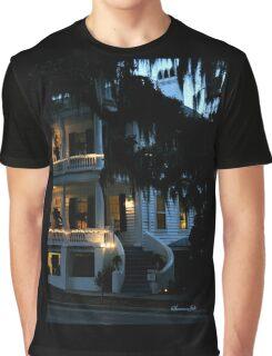 Evening at Rhett House Inn Graphic T-Shirt