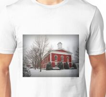 Iron County Courthouse in the Snow Unisex T-Shirt