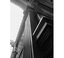 Wooden Corners Photographic Print