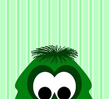 Silly Little Dark Green Monster by mydeas